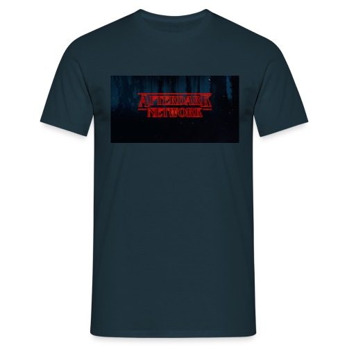 After Dark Tee done Strange things style - Men's T-Shirt