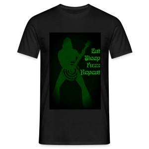 Eat Sleep Fuzz Repeat - Men's T-Shirt