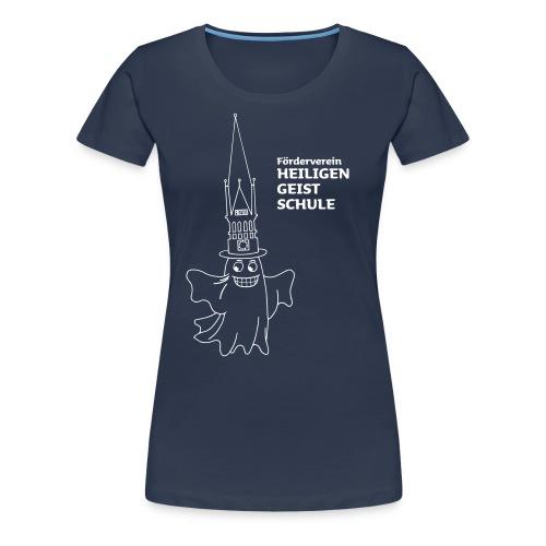 T-Shirt Geist für DAMEN - Frauen Premium T-Shirt