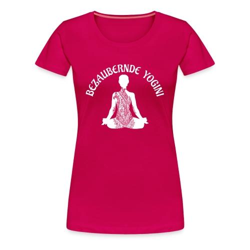 Bezaubernde Yogini - Frauen Premium T-Shirt