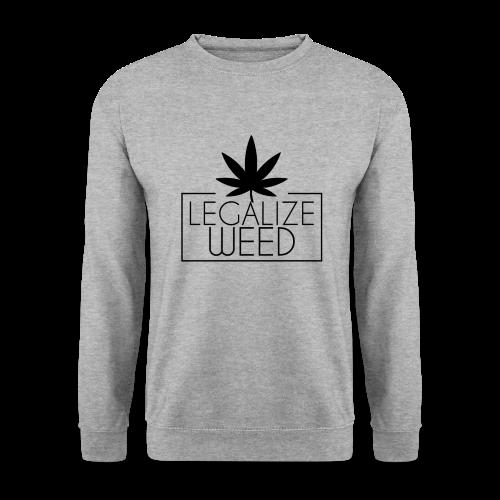 Legalize weed - Pullover grau - Männer Pullover