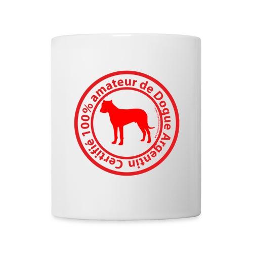 100% amateur de Dogo - Mug blanc