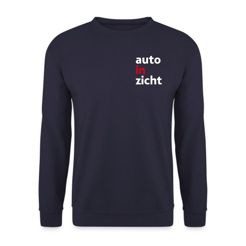Sweater heren navy blue - Mannen sweater