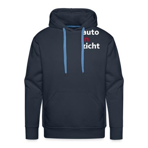 Hoodie heren navy blue - Mannen Premium hoodie