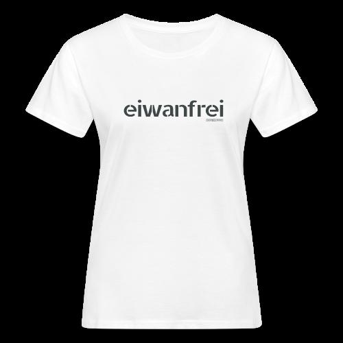 Frauen T-Shirt eiwanfrei in 8 Farben - Frauen Bio-T-Shirt