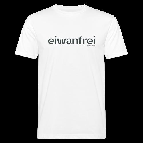 Männer T-Shirt eiwanfrei in 8 Farben - Männer Bio-T-Shirt