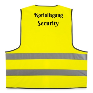 Koriolisgang Security - Warnweste