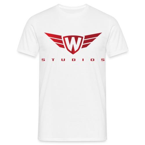 Witte t-shirt - Mannen T-shirt