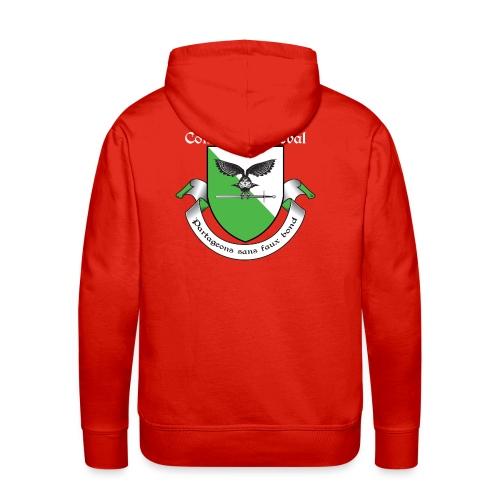 Sweat-shirt Chartreuse Combat Médiéval - Sweat-shirt à capuche Premium pour hommes