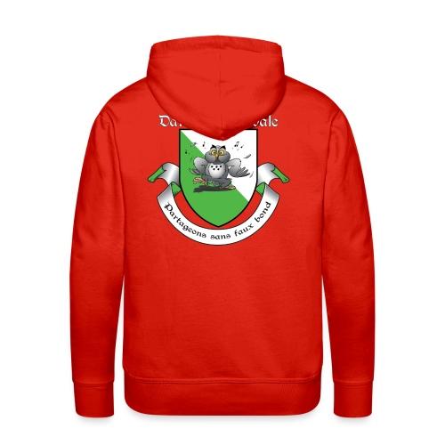 Sweat shirt Chartreuse Danse Médiévale - Sweat-shirt à capuche Premium pour hommes