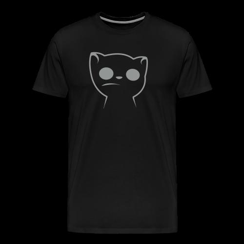 Hypnocat Grau - Männer - Männer Premium T-Shirt