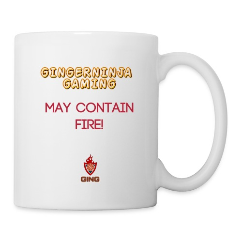 Gingerninja Gaming May contain fire Mug - Mug