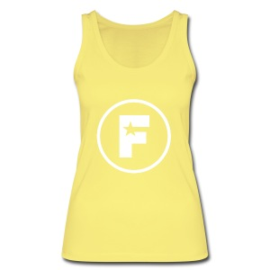The Factory Ladies Yellow Vest - Women's Organic Tank Top by Stanley & Stella