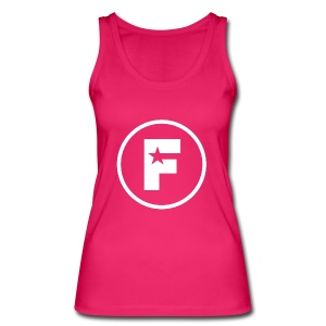 The Factory Ladies Pink Vest - Women's Organic Tank Top by Stanley & Stella