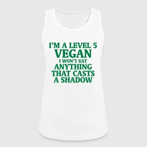 LEVEL 5 VEGAN, DON'T EAT THAT HAS A SHADOW Sports wear - Women's Breathable Tank Top