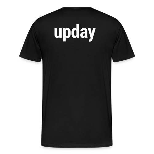 upday T-Shirt male black - Men's Premium T-Shirt