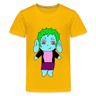 T-Shirts ~ Teenager Premium T-Shirt ~ Chibi-Shirt für Teenager