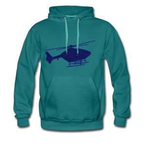 Hubschrauber 2 - Männer Premium Hoodie
