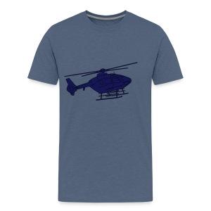 Hubschrauber 2 - Männer Premium T-Shirt