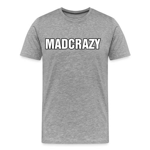 T-SHIRT IN VARI COLORI CON SCRITTA MADCRAZY - Maglietta Premium da uomo