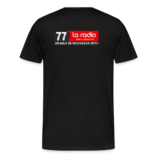 tee shirt 77 La Radio  - T-shirt Premium Homme