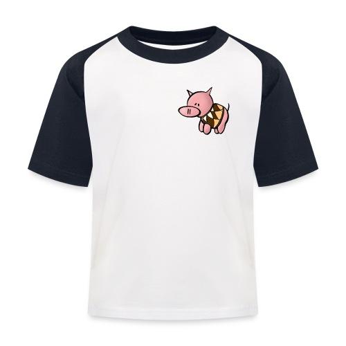 Grisen i pullover - Baseboll-T-shirt barn - Baseboll-T-shirt barn