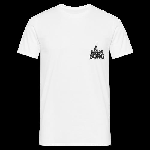 Hamburg Michel (Vintage Schwarz) T-Shirt - Männer T-Shirt
