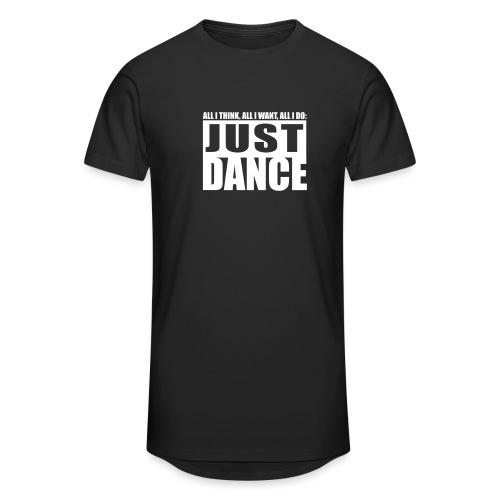 T-Shirt Urban Just DANCE - Männer Urban Longshirt