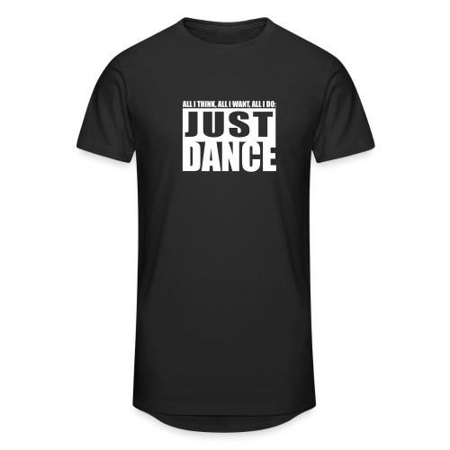 T-Shirt Urban Just DANCE - Männer Urban Longshirt