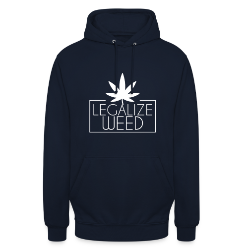 Legalize weed - Pullover schwarz - Unisex Hoodie