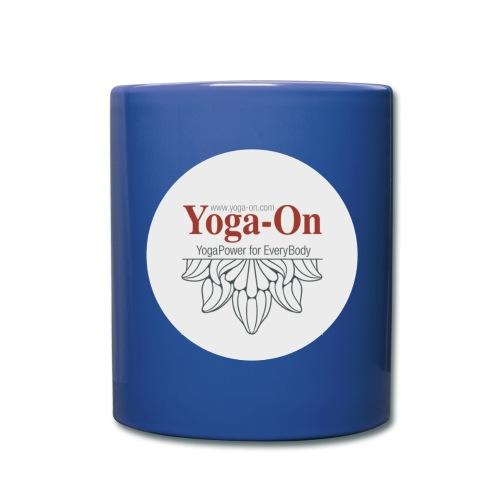 Yoga-On Tasse - Tasse einfarbig