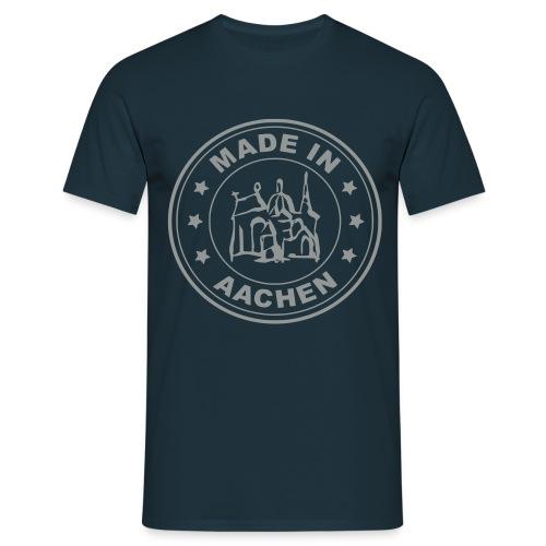 Aachener ART - Made in Aachen - Stempel - Männer T-Shirt