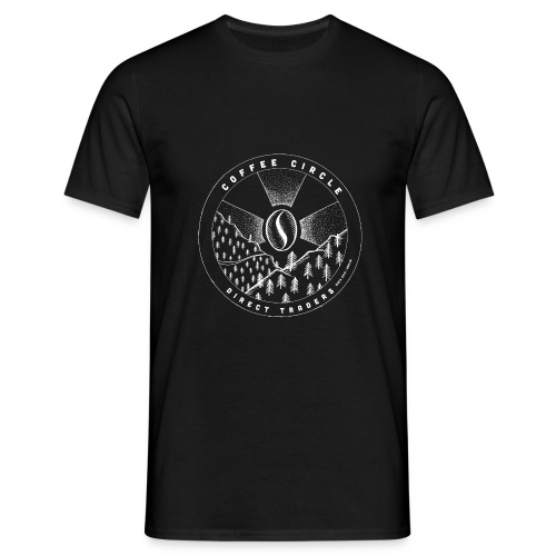 Coffee Circle | T-Shirt Direct Traders - Männer T-Shirt