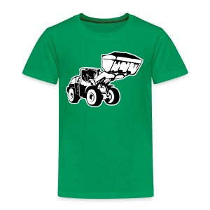 Radlader, Wheel Loader (2 color) T-Shirts - Kinder Premium T-Shirt