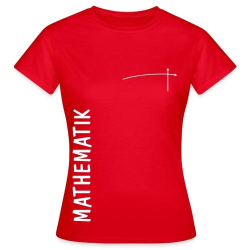 FS Mathe OL Damen Mathematik Schnitt 1 Rot - Frauen T-Shirt