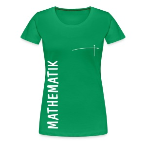 FS Mathe OL Damen Mathematik Schnitt 2 Kelly Green - Frauen Premium T-Shirt