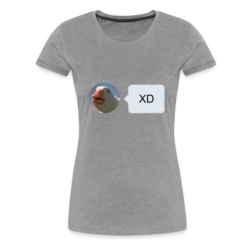 XD (Womens) - Women's Premium T-Shirt