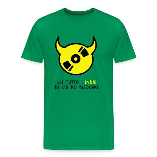 T-shirt ufficiale Sei Tutto L'indie Di Cui Ho Bisogno - uomo - Maglietta Premium da uomo