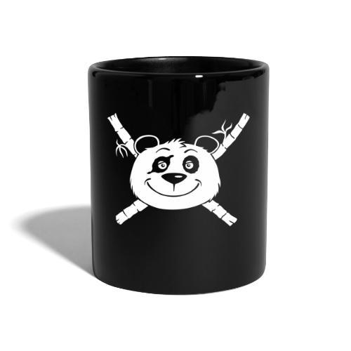 Panda Pirat - Tasse farbig  - Tasse einfarbig