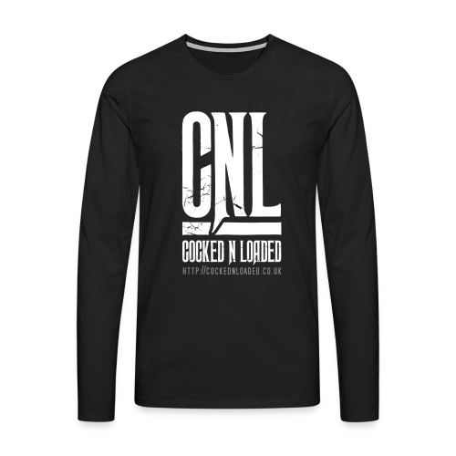 COCKED N LOADED MENS LOGO LST-SHIRT 001 - Men's Premium Longsleeve Shirt