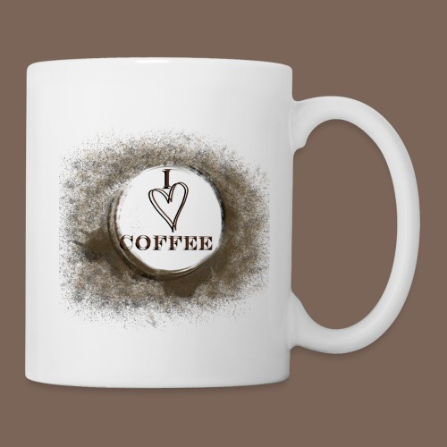 I love my coffee - Mug