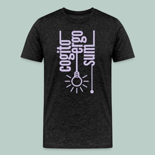Cogito ergo sum - Männer Premium T-Shirt