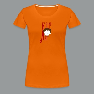 Damen-T-Shirt KiP Art - Frauen Premium T-Shirt