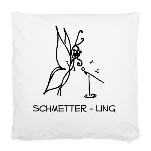 Kissenhülle Schmetter-ling  - Kissenbezug 40 x 40 cm
