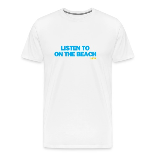 On The Beach - Men's Premium T-Shirt
