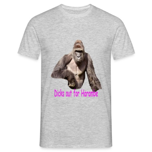 Harambe, a tribute. - Men's T-Shirt