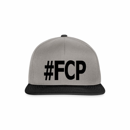 #FCP (Snapback, Schrift: schwarz) - Snapback Cap