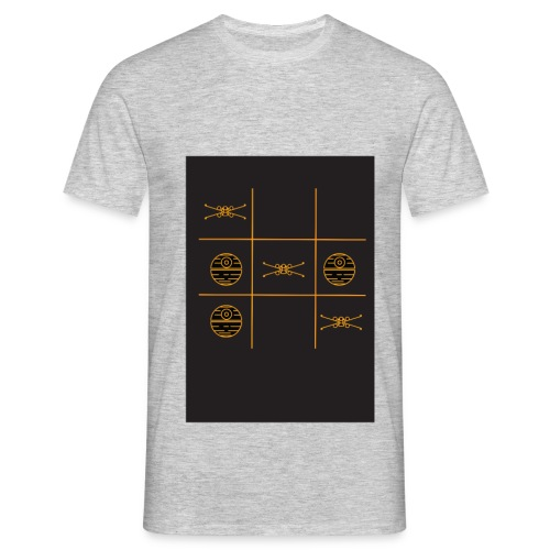 Noughts and crosses - Men's T-Shirt