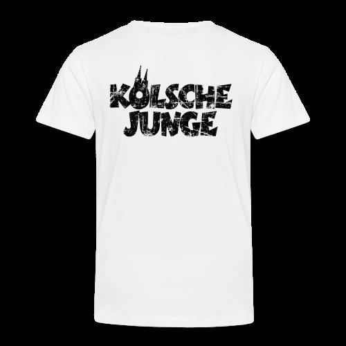 Kölsche Junge (Vintage Schwarz) Kinder T-Shirt - Kinder Premium T-Shirt