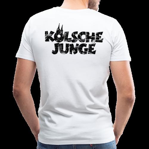 Kölsche Junge (Vintage Schwarz) S-5XL Köln T-Shirt - Männer Premium T-Shirt